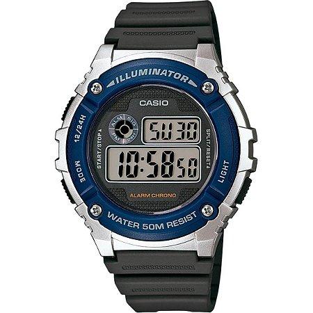 Relógio Casio Masculino Standard W-216H-2AVDF