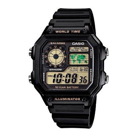 Relógio Casio Masculino Standard AE-1200WH-1BVDF
