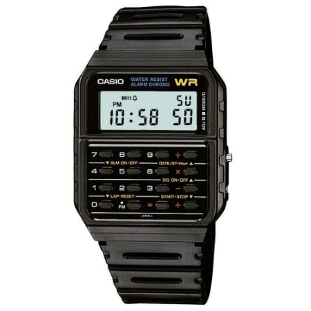 Relógio Casio Data Bank CA-53W-1Z