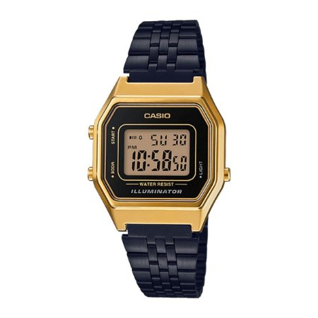 Relógio Casio Vintage Unissex LA680WEGB-1ADF