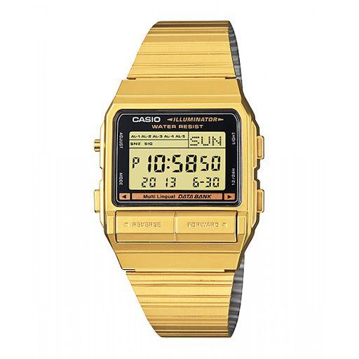 Relógio Casio Data Bank DB-380G-1DF