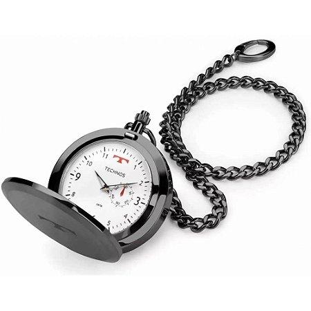 Relógio de bolso Technos Masculino Heritage 1L45BC/4B