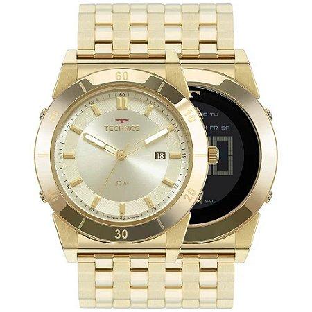 Relógio Technos Masculino Curvas 1S13CQ/4X