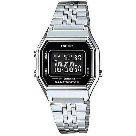 Relógio Casio Feminino Vintage LA680WA-1BDF
