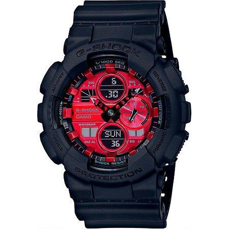 Relógio Casio G-Shock Masculino GA-140AR-1ADR