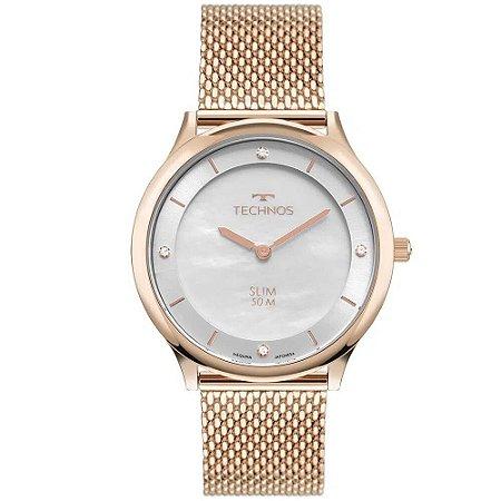 Relógio Technos Feminino Slim GL20HL/1K