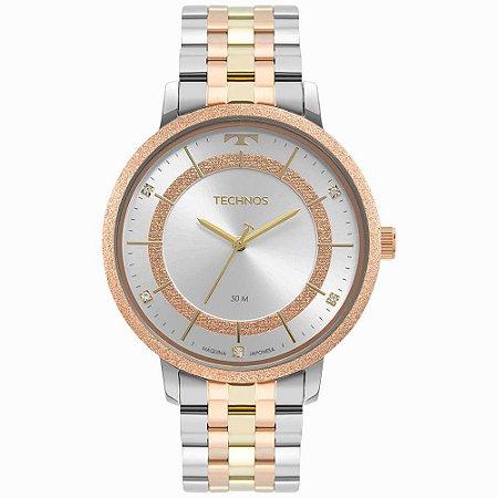 Relógio Technos Feminino Trend bicolor 2035MTE/1K