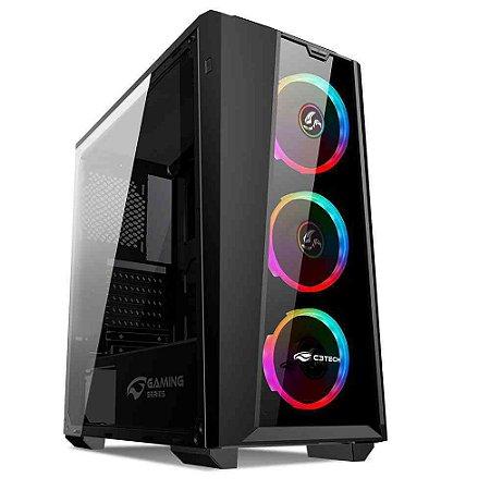 GABINETE GAMER MT-G800BK S/FONTE C3T