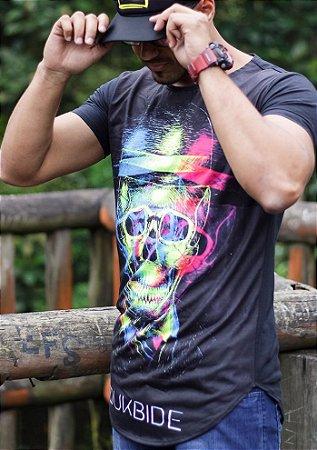 Camiseta Oversized Longline Chapeleiro Color
