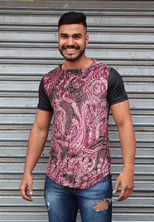 Camiseta Masculina Veludo Color Rei Look