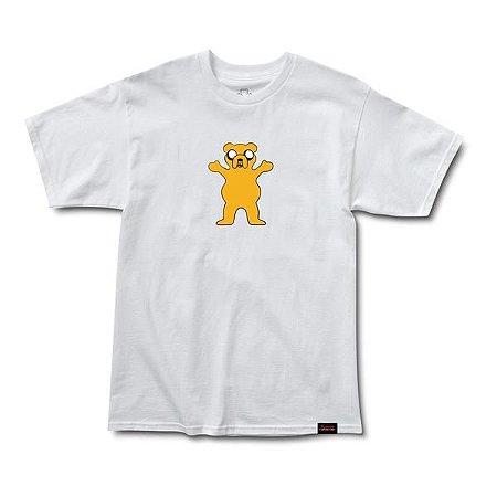Camiseta Grizzly X Adventure Time Homies Help Homies - Branca - BZK ... aae8f4144ddd8