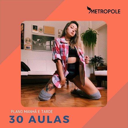 PLANO DE 30 AULAS - MANHÃ E TARDE
