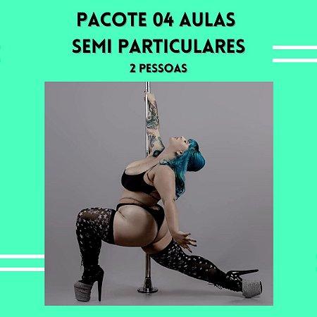PACOTE 04 AULAS SEMI PARTICULARES - 02 PESSOAS