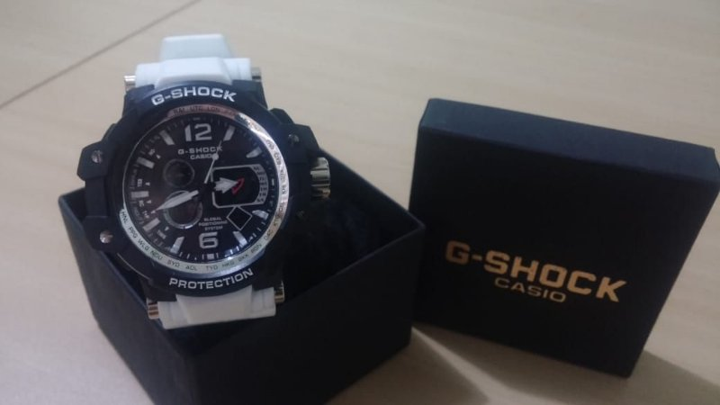 8a343230e9 Relógio G-Shock - Preto Branco - LM SHOP IMPORTS
