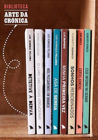 BIBLIOTECA ARTE DA CRÔNICA (8 VOLUMES)