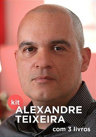 KIT ALEXANDRE TEIXEIRA (com 3 livros)