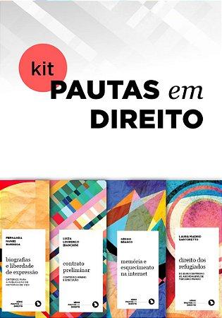 KIT PAUTAS EM DIREITO (4 livros)