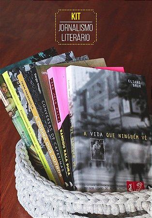 KIT JORNALISMO LITERÁRIO (com 6 livros)