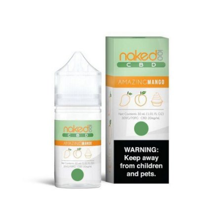 Juice Amazing Mango CBD 30ML 1200MG- Naked