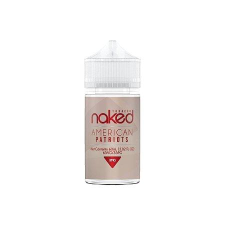 Juice American Patriots 60ML/3MG - Naked