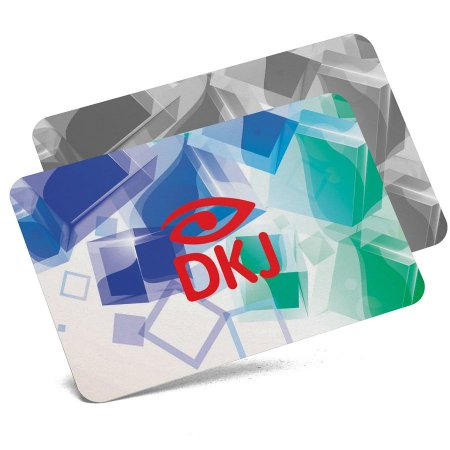 Cartão de visita 4x1 cores em papel cartão 300 g/m² com verniz UV total cantos arredondados