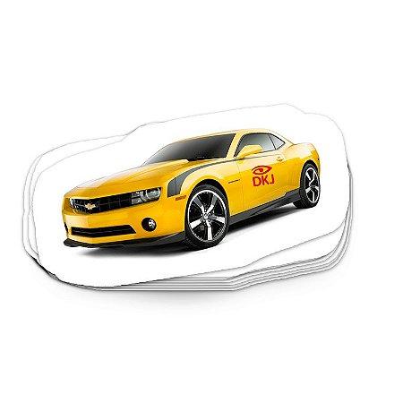 Etiqueta (vinil) adesivo brilho ou transparente 10x30 cm 0,10 mm com corte no formato desejado
