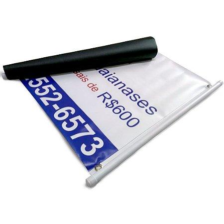 Faixa em lona promocional 280 g impressão digital