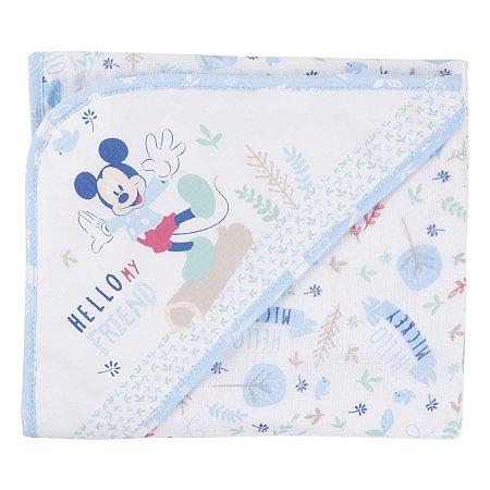 Toalha Com Capuz Minasrey Disney Baby Estampa Mickey