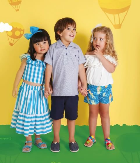 Conjunto Masculino Blusa e Bermuda Marinho - Kid Camaleão Infantil 290962c0c00c4