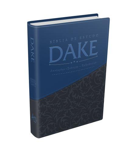 Bíblia de Estudo Dake (Azul e Cinza)