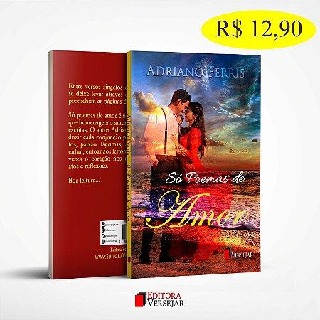 Só Poemas de Amor   Adriano Ferris   Pré-Venda