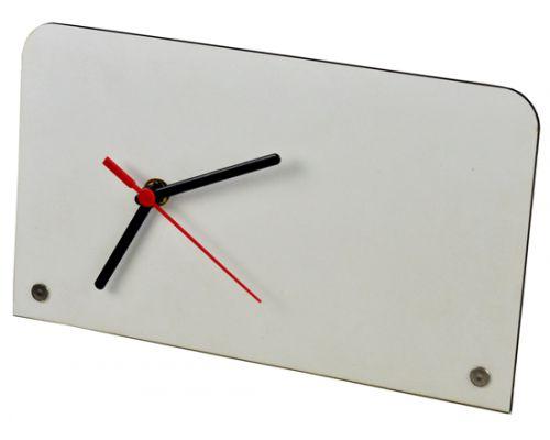 Relógio porta retrato branco - MDF