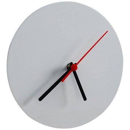Relógio de parede Branco para sublimação - Metal