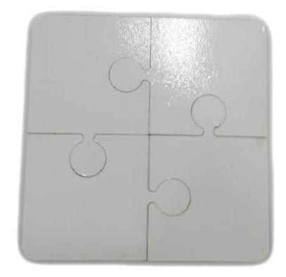 Quebra-cabeça 4pçs em MDF