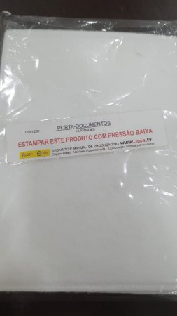 Porta documentos pet c/5un