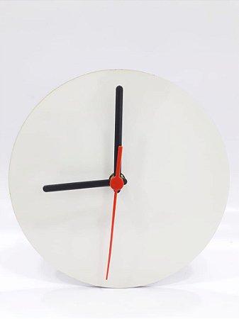 Relógio redondo MDF 18cm
