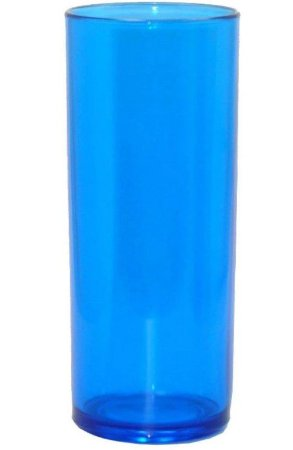 Long drink azul transparente