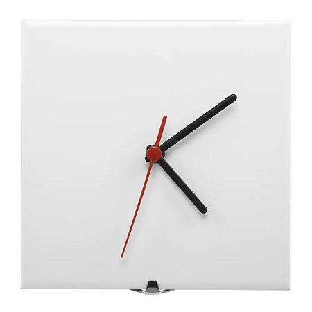 Azulejo relógio 20x20 resinado