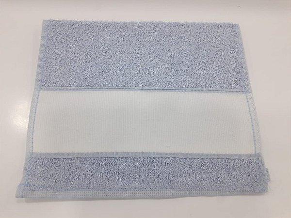 Toalha lavabinho engotex - azul claro