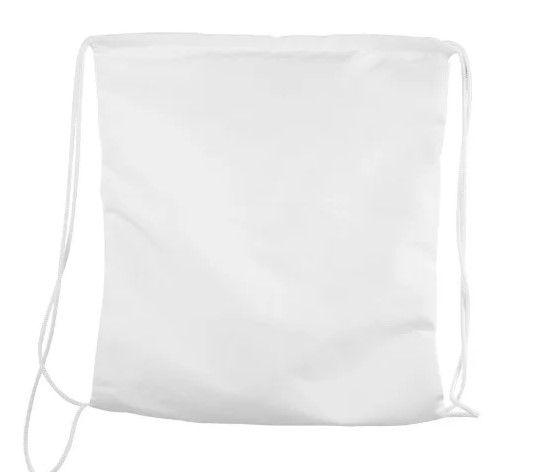Saco mochila 35x40 branco