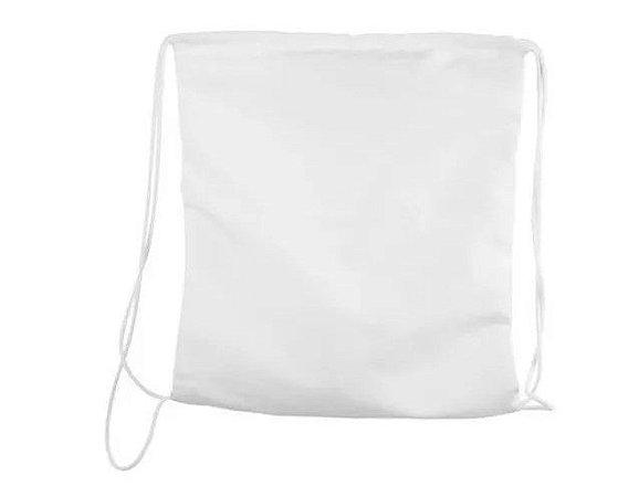 Saco mochila 20x30 branco
