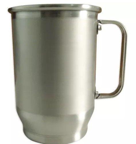 Caneca alumínio tarja 650ml