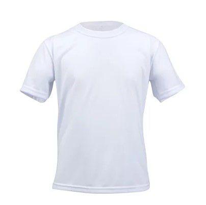 Camiseta poliéster infantil tam 16