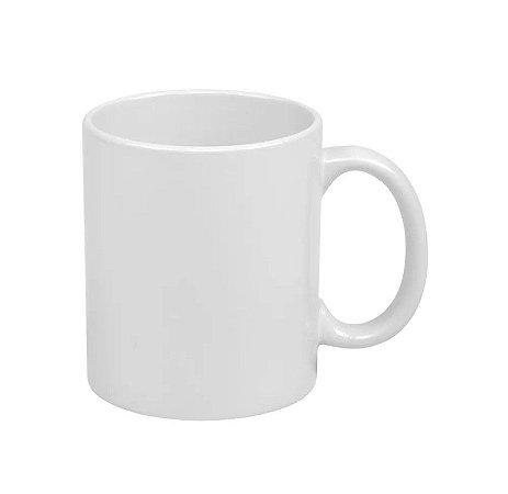 Caneca de ceramica / porcelana para sublimação - branca classe AAA