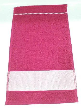 Toalha lavabinho engotex - rosa pink
