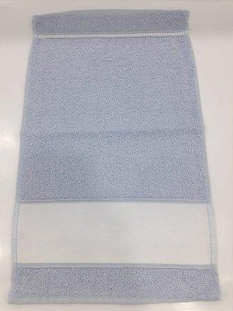 Toalha lavabo engotex - azul claro