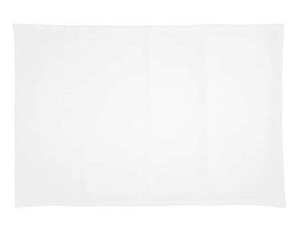 Capa de almofada 20x30 branca/branca