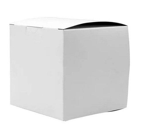 Caixa para caneca não sublimável branca colada 10un