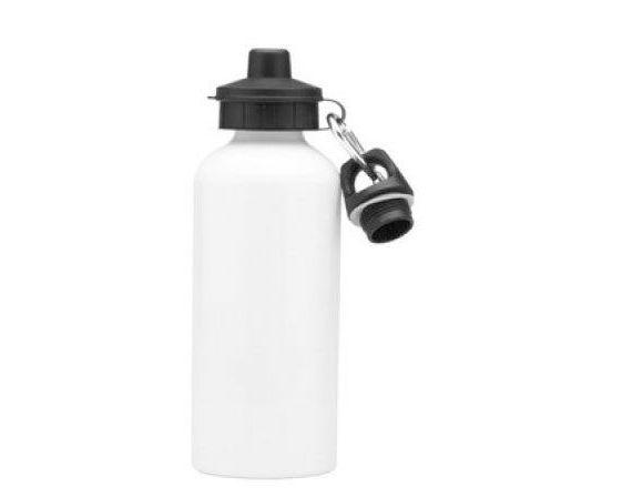 Squeeze aluminio branco 500ml / 2 tampas