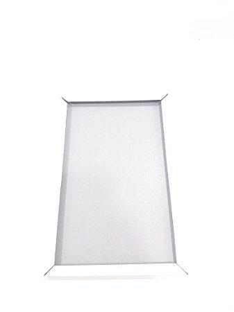 Quadro de inox 10x15 Branco
